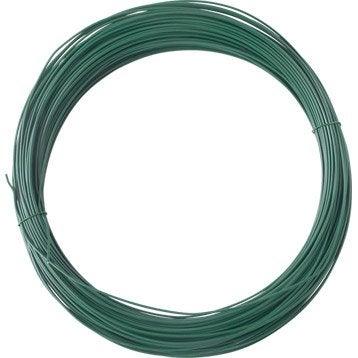 Fil d'attache vert, l.100 m x P.1.5 mm