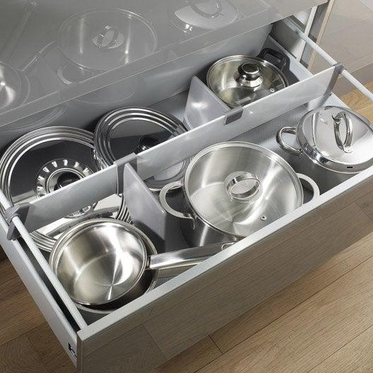 Séparateur casserolier DELINIA l.75.2 x P.25.2 cm