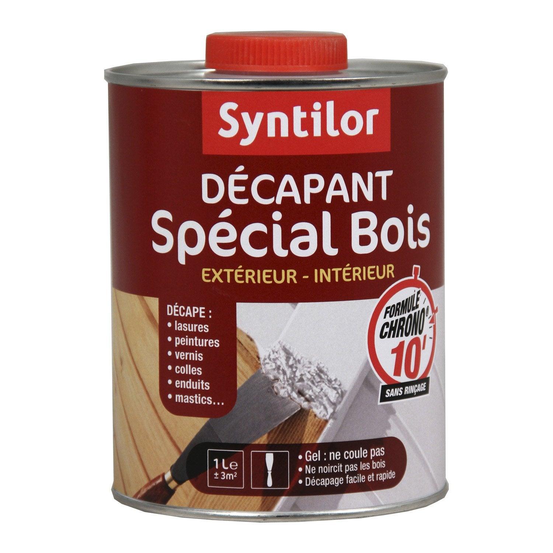 Decapant peinture bois professionnel - Decapant vernis bois ...
