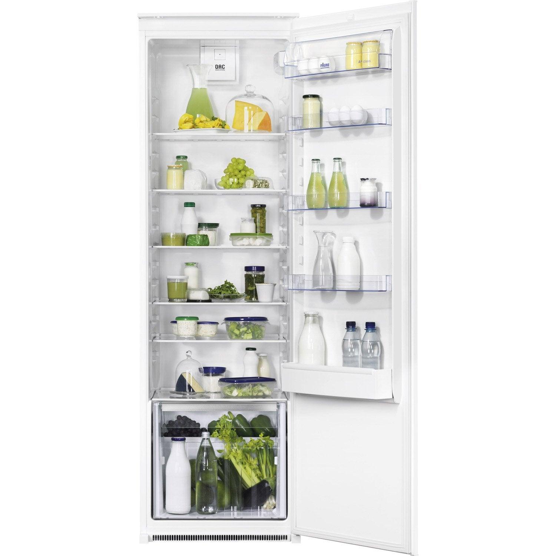 réfrigérateur intégrable faure fba32055sa   leroy merlin