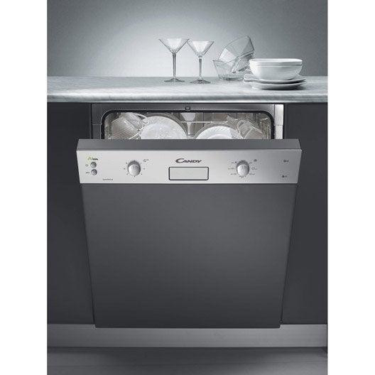 lave vaisselle int grable cm candy cds2112x 12 couverts leroy merlin. Black Bedroom Furniture Sets. Home Design Ideas