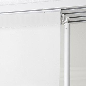 Baguette de guidage pour panneau japonais, aluminium, gris, L.85 cm