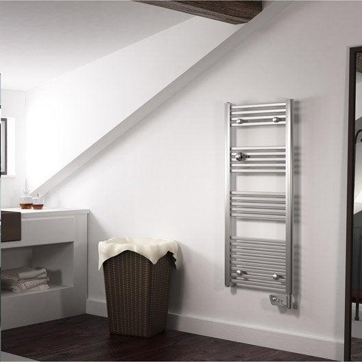 s che serviettes lectrique inertie fluide sauter sapporo 750 w leroy merlin. Black Bedroom Furniture Sets. Home Design Ideas