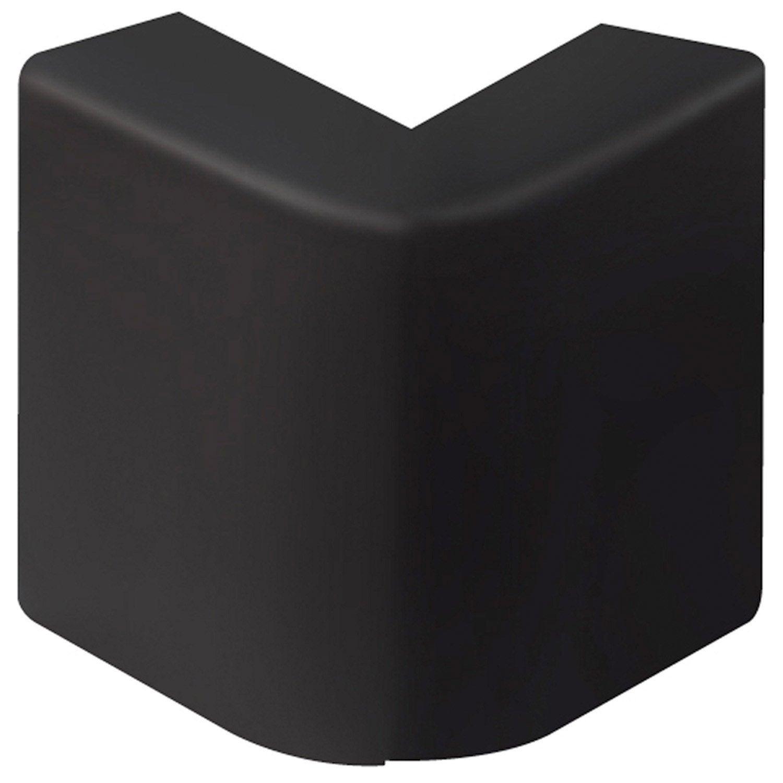 angle ext rieur noir pour plinthe h 10 x p 5 5 cm leroy merlin. Black Bedroom Furniture Sets. Home Design Ideas