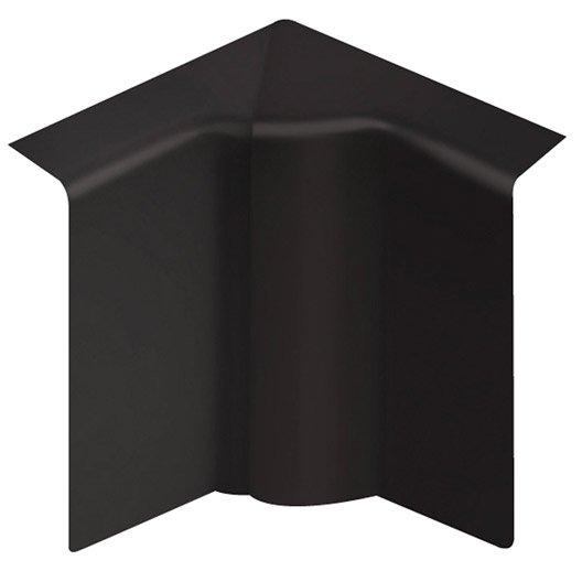 angle int rieur noir pour plinthe h 10 x p 5 5 cm leroy merlin. Black Bedroom Furniture Sets. Home Design Ideas