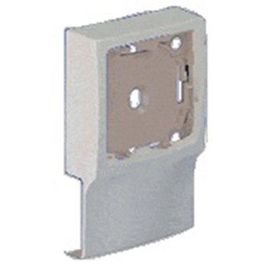 Adaptateur blanc pour moulure h 9 4 x p 2 4 cm leroy for Adaptateur chaise pour bb