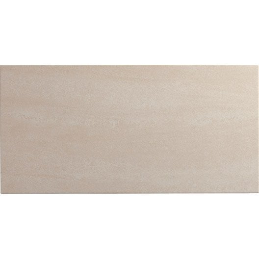 carrelage sol et mur ivoire effet pierre trevise x cm leroy merlin. Black Bedroom Furniture Sets. Home Design Ideas