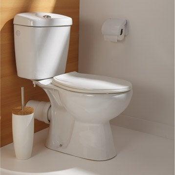 Pack WC à poser sortie horizontale Nerea