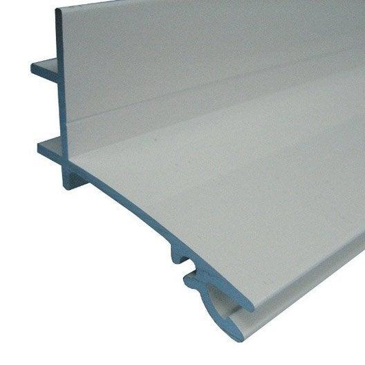 fa ti re sup rieure sur mesure pour plaque ep 32 mm blanc l 0 5 m leroy merlin. Black Bedroom Furniture Sets. Home Design Ideas