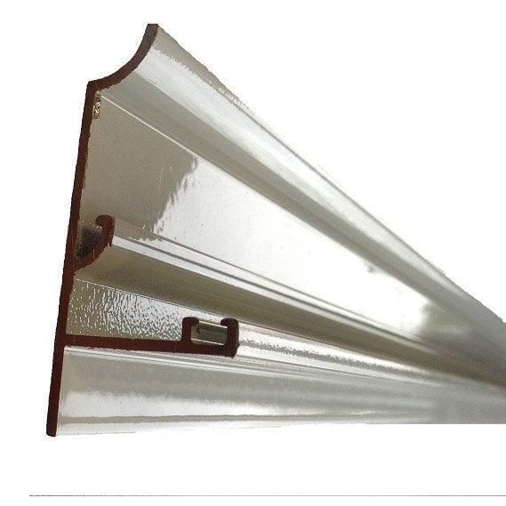 Rive Sur Mesure Pour Plaque Ep 16 Mm Aluminium L05 M