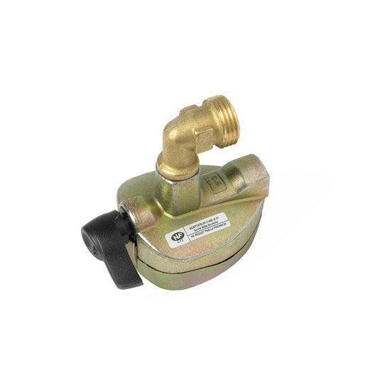 v p produits robinet adaptateur gaz butane propane pour cube et viseo x diam mm butagaz e