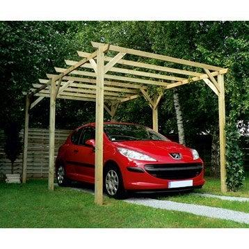Carport bois grancey - Montage d un carport ...