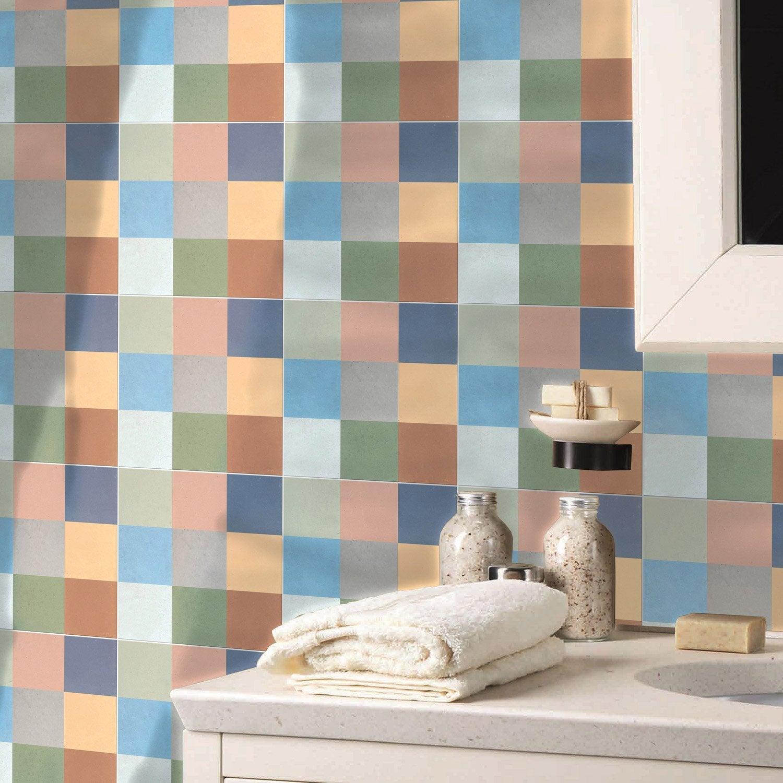 carreau de ciment sol et mur beige effet ciment artdeco x cm leroy merlin. Black Bedroom Furniture Sets. Home Design Ideas