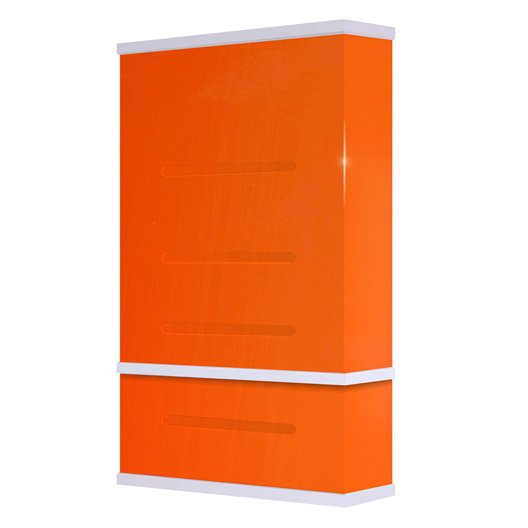 chauffe eau lectrique vertical mural waterslim wts 50 orange 50 l leroy merlin. Black Bedroom Furniture Sets. Home Design Ideas