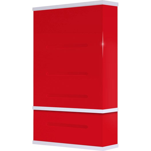 chauffe eau lectrique horizontal ou vertical waterslim wts 50 rouge 50 l leroy merlin. Black Bedroom Furniture Sets. Home Design Ideas