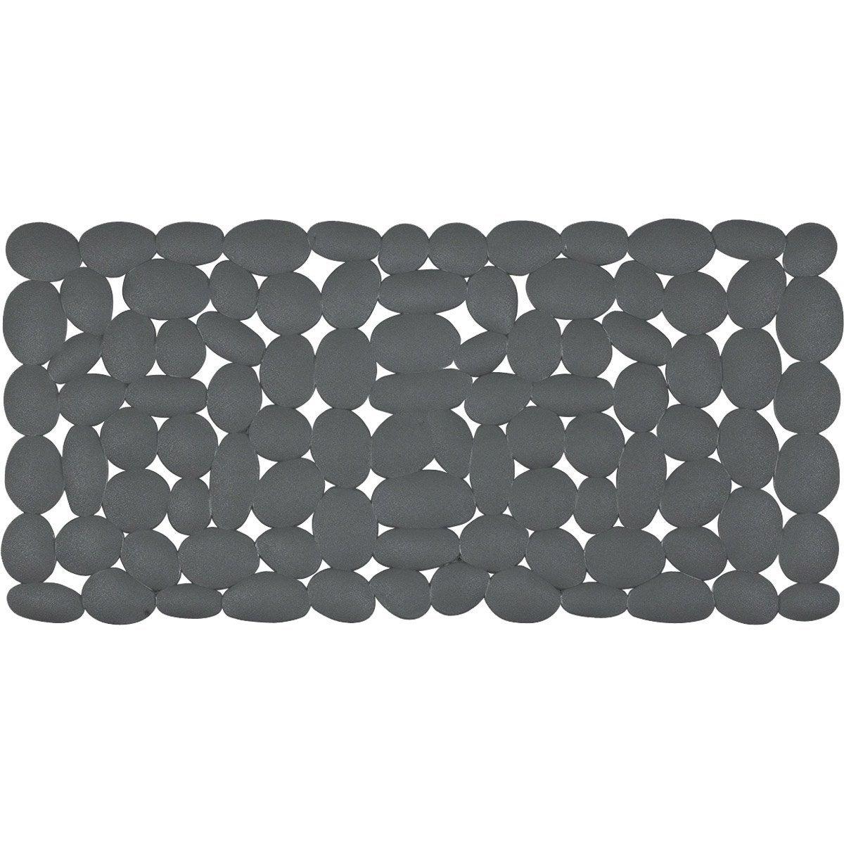 tapis antidrapant gris pour baignoire marathon leroy merlin - Tapis De Bain Antiderapant