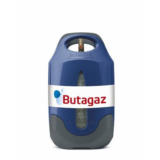 Bouteille vide de gaz butane viseo sans gaz 10 kg - Injecteur gaz butane leroy merlin ...