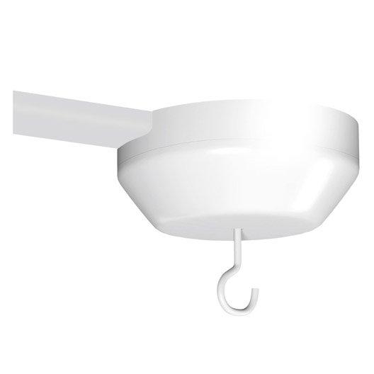 centre de lumi re blanc pour moulure h 4 4 x cm. Black Bedroom Furniture Sets. Home Design Ideas