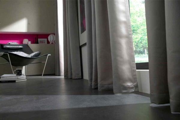 Bien choisir son rideau ou son voilage leroy merlin - Hauteur d un rideau par rapport au sol ...