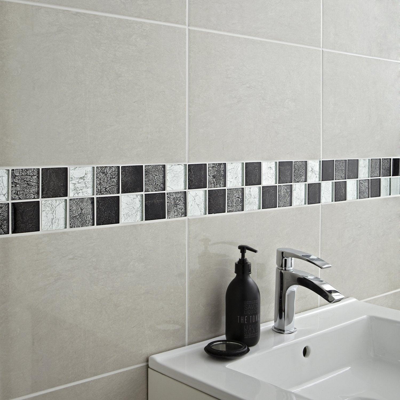 Mosaïque brillante, le coup d\'éclat dans la salle de bains | Leroy ...