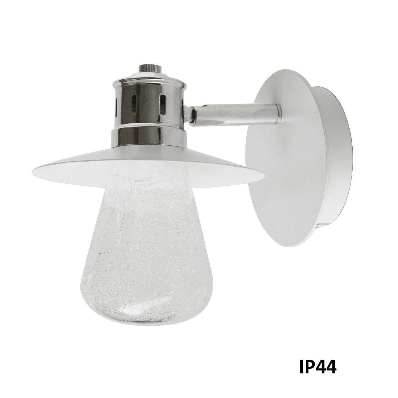 Applique Asco, Halogène 1 x 33 W, G9 blanc chaud