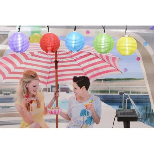 Guirlande solaire multicolore leroy merlin - Guirlande solaire leroy merlin ...