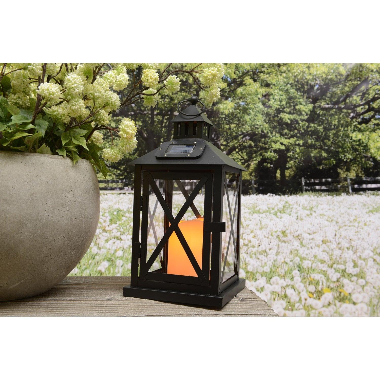 lanterne solaire noir leroy merlin. Black Bedroom Furniture Sets. Home Design Ideas