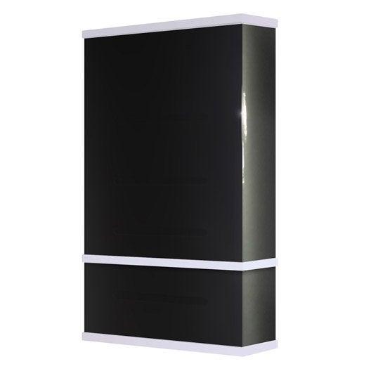 chauffe eau lectrique vertical mural waterslim wts 50 gris anthra 50 l leroy merlin. Black Bedroom Furniture Sets. Home Design Ideas