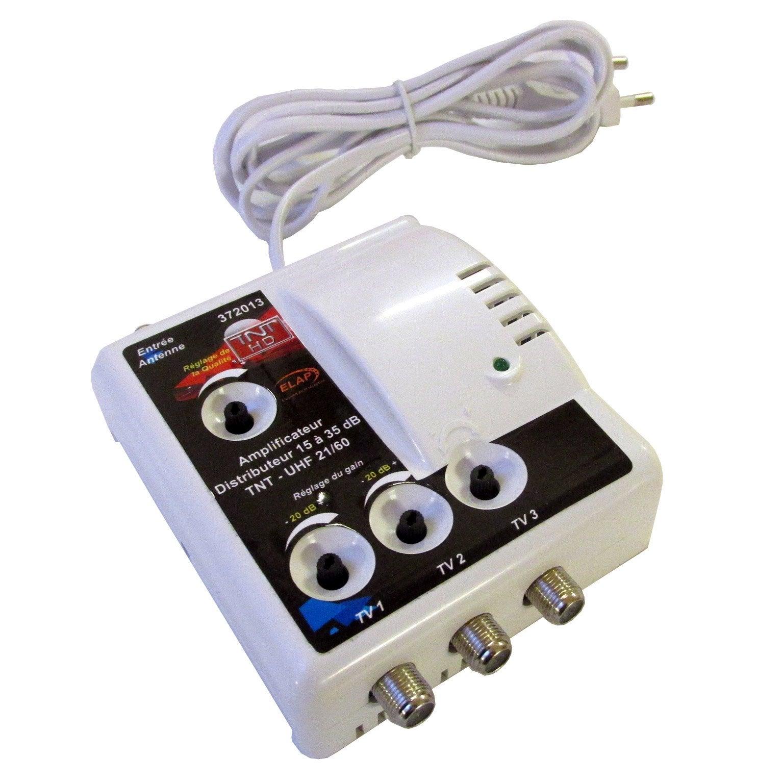 Amplificateur Intérieur Terrestre 3 Sorties Elap