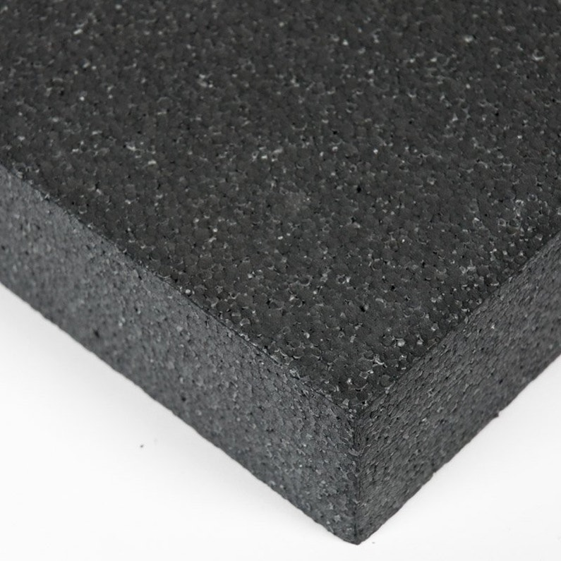Plaque Polystyrene 20 Mm Noir Lisse L 100 X 200 Cm Leroy Merlin