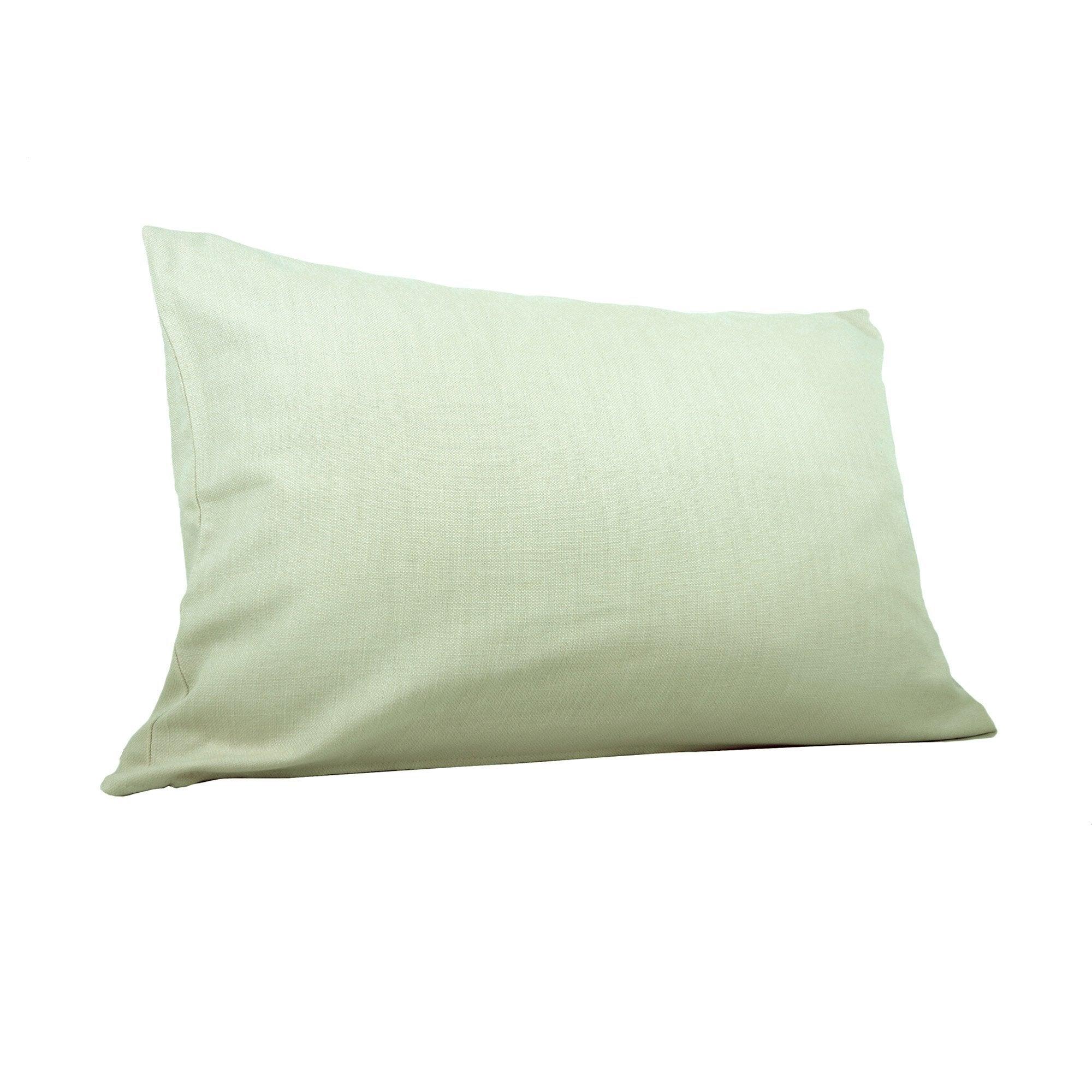 Coussin Savanna, vert sauge l.60 x H.40 cm