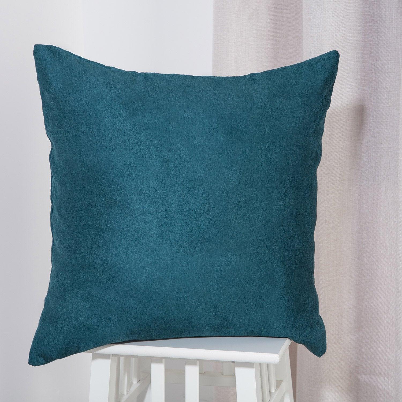Coussin Newmanchester INSPIRE, bleu l.45 x H.45 cm