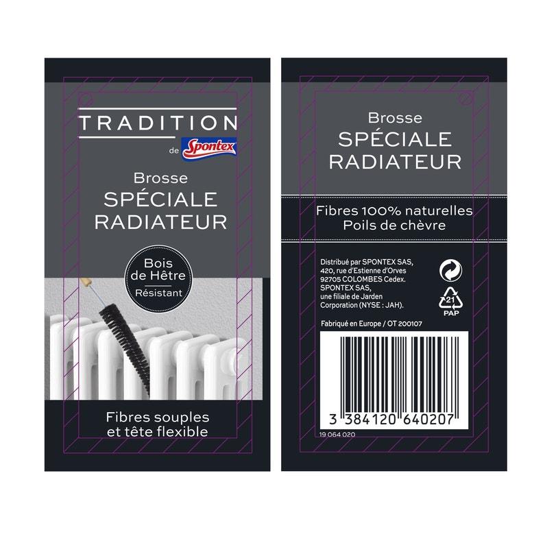 Brosse Flexible Tradition De Spontex Spécial Radiateur