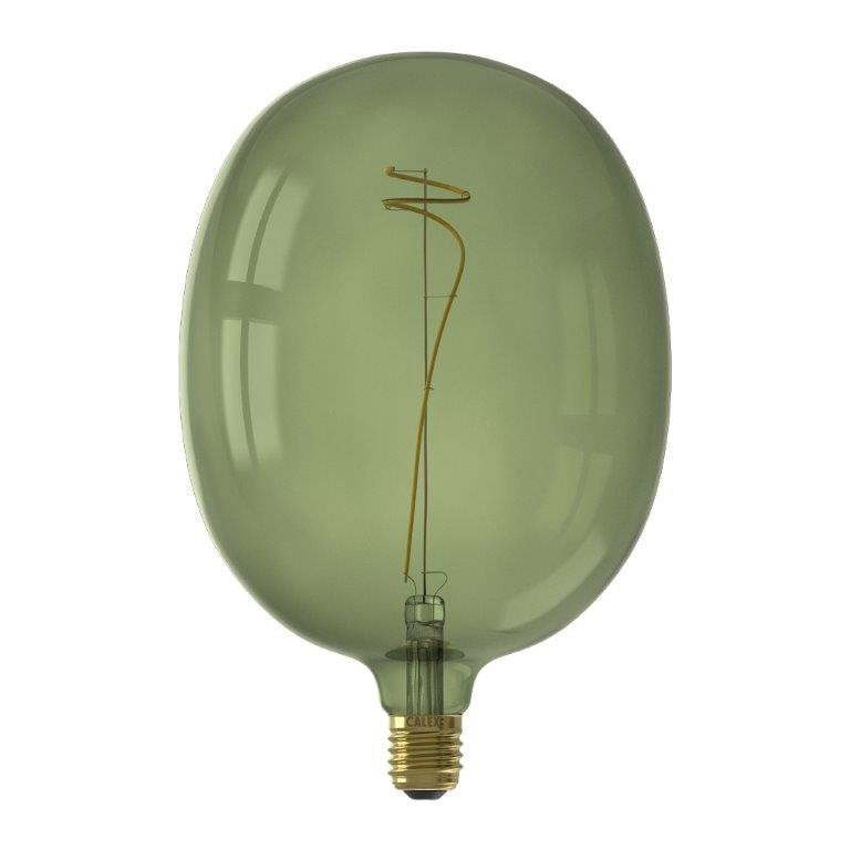 Ampoule led vert Globe 180 mm E27 130 Lm = 40 W vert, CALEX