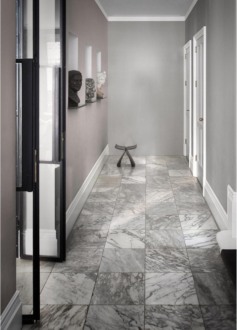 Couleur De Salon Gris peinture gris alpaga mat dulux valentine crème de couleur 2.5 l