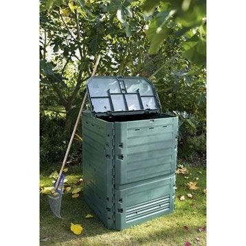 Composteur monobloc GARANTIA 626002 vert sapin 600 l
