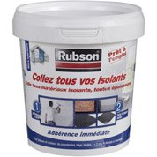 Colle pour matériaux isolants universelle RUBSON l.125 x L.117 mm, Ep.117 mm