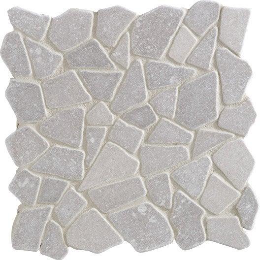 galets sol et mur opus gris leroy merlin. Black Bedroom Furniture Sets. Home Design Ideas
