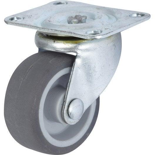 pied de meuble roue et roulette pied de table au meilleur prix leroy merlin. Black Bedroom Furniture Sets. Home Design Ideas