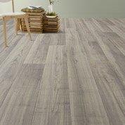 Sol PVC gris fair oaks, ARTENS Textile l.4 m