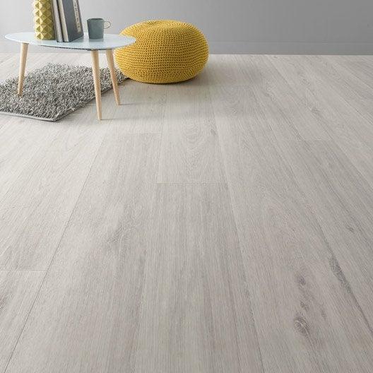 Sol vinyle textile noma blanc artens 4 m - Sol vinyle clipsable ...