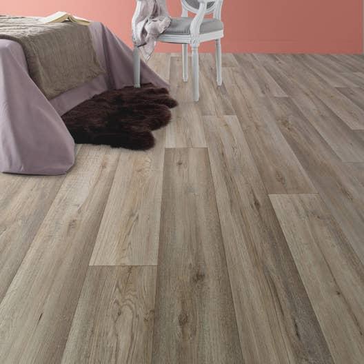 sol pvc silk oak taupe l 4 m leroy merlin. Black Bedroom Furniture Sets. Home Design Ideas