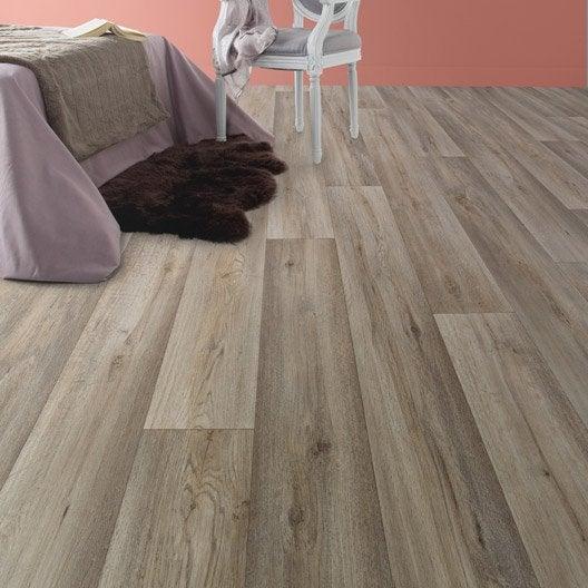 sol pvc silk oak taupe l m with revetement de sol leroy merlin. Black Bedroom Furniture Sets. Home Design Ideas