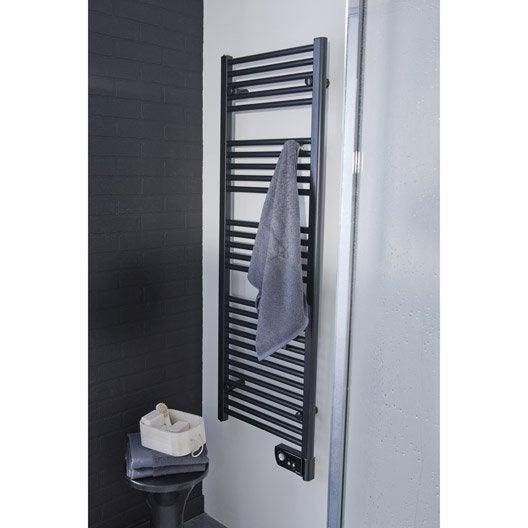 S che serviettes lectrique inertie fluide sauter seville 750 w leroy merlin - Choisir un seche serviette electrique ...