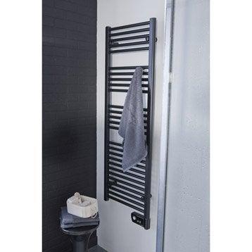 Sèche-serviettes électrique à inertie fluide SAUTER Seville 750 W