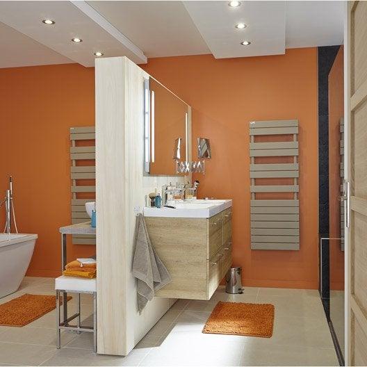 s che serviettes eau chaude acier acova alpaga sym trique couleur 1019 w leroy merlin. Black Bedroom Furniture Sets. Home Design Ideas