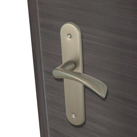 2 poign es de porte azur sans trou inspire aluminium 165. Black Bedroom Furniture Sets. Home Design Ideas