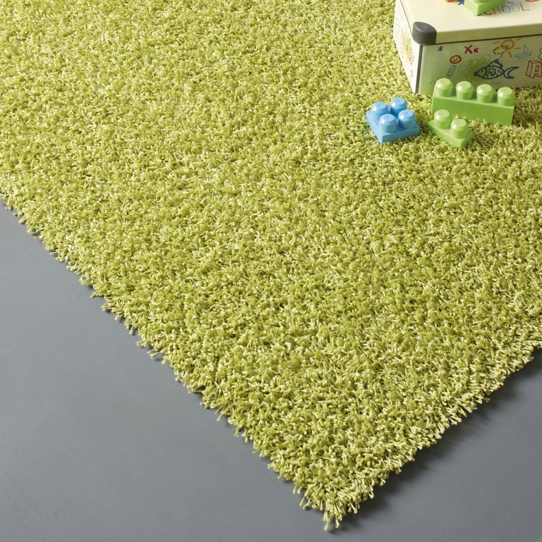 Tapis vert anis shaggy Pop, l.160 x L.230 cm | Leroy Merlin