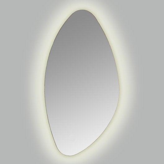 Miroir ovale leroy merlin amazing miroir ovale design for Miroir galet