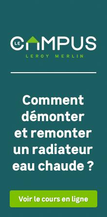 Radiateur eau chaude radiateur chauffage central leroy merlin - Demonter radiateur chauffage central ...